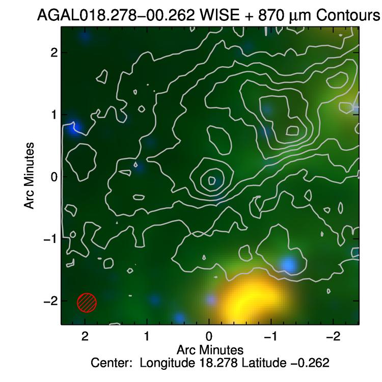 ATLASGAL CSC Source Details Page